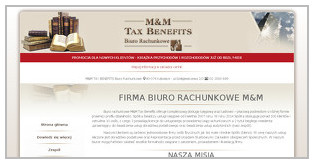 BIURO RACHUNKOWE M&M TAX BENEFITS SP Z O O